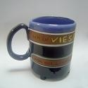 """Keramikinis glazūruotas puodelis, serija """"Mylėk Viešpatį"""""""